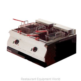 Garland / US Range ED-30SFT Fryer Counter Unit Electric Split Pot