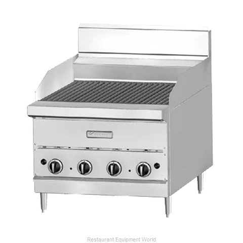 Garland / US Range G18-BRL Charbroiler Gas Counter Model (Magnified)