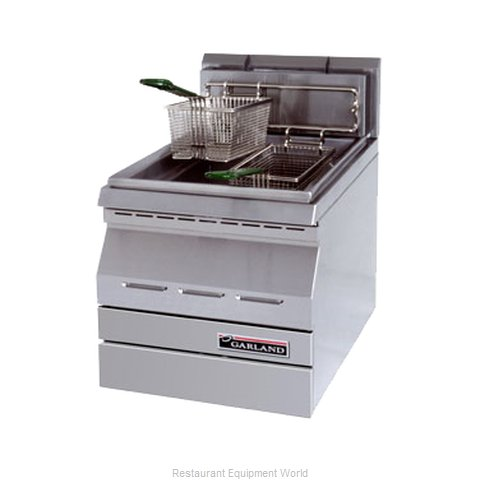 Garland / US Range GD-15F Fryer, Gas, Countertop Full Pot (Magnified)