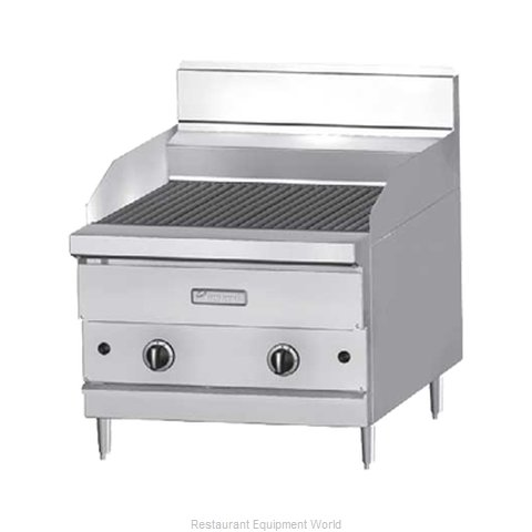 Garland / US Range GF30-BRL Charbroiler Gas Counter Model (Magnified)
