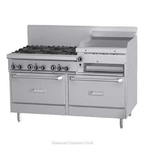 Garland / US Range GFE60-6R24RS Range 60 Restaurant Gas