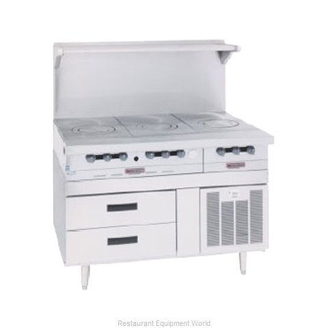 Garland / US Range GN17R34 Refrigerated Counter Griddle Stand