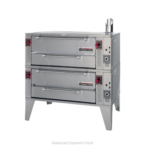 Garland / US Range GPD-48-2 Pizza Oven, Deck-Type, Gas