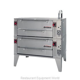 Garland / US Range GPD-48-2 Pizza Oven Deck-Type Gas