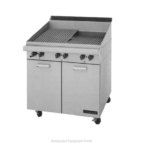Garland / US Range M34B Range Heavy Duty Gas Charbroiler (Magnified)