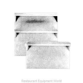 Garland / US Range M34DD Backguard Flue Riser