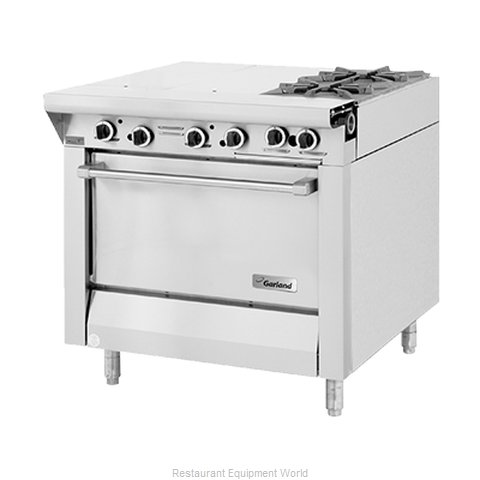 Garland / US Range M43-3R Hot Top Gas Heavy Duty Range