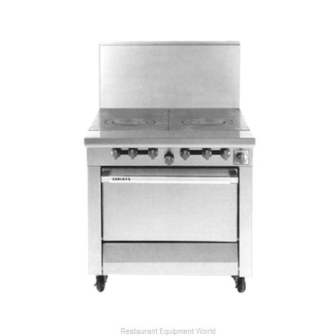 Garland / US Range M45S Hot Top Gas Heavy Duty Range