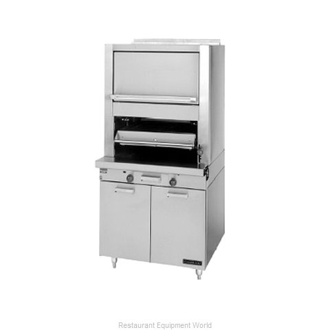 Garland / US Range M60XR Ceramic Broiler w/Finishing Oven