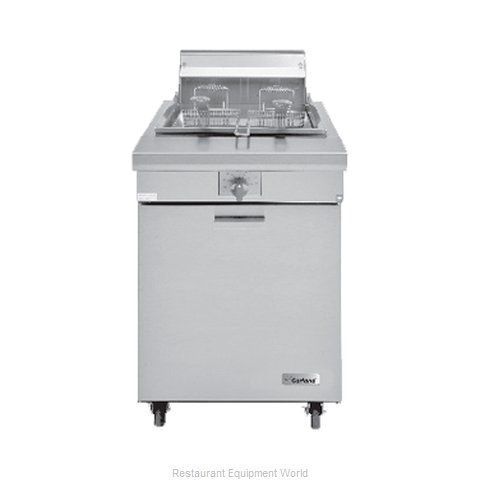 Garland / US Range M70SS Fryer Floor Model Gas Full Pot