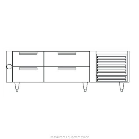 Garland / US Range UN17C66 Equipment Stand, Refrigerated Base