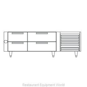 Garland / US Range UN17C84 Equipment Stand, Refrigerated Base