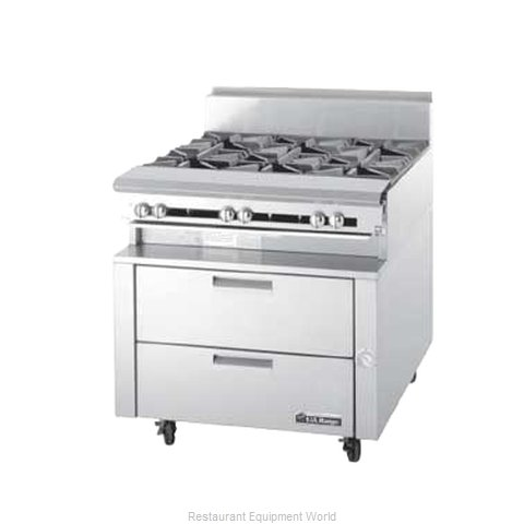 Garland / US Range UN17R84 Refrigerated Counter Griddle Stand