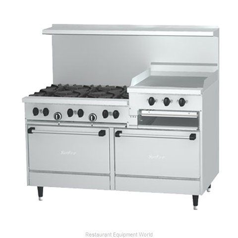 Garland / US Range X60-6R24RS Range 60 Restaurant Gas