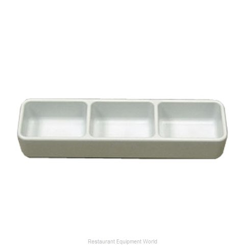 Gessner 0623WH Sauce Dish, Plastic (Magnified)