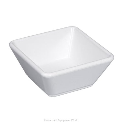 Gessner 0624WH Sauce Dish Plastic (Magnified)