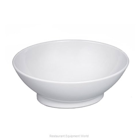 Gessner 0626WH Bowl Soup Salad Pasta Cereal Plastic (Magnified)