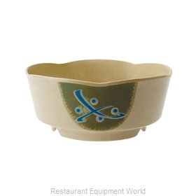 GET Enterprises 0163-TD Soup Salad Pasta Cereal Bowl, Plastic
