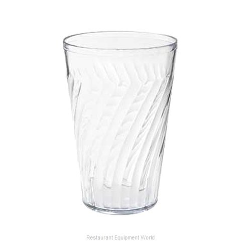 GET Enterprises 2224-1-CL Tumbler Plastic (Magnified)