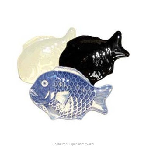 GET Enterprises 370-10-BK Seafood Shaped Dish