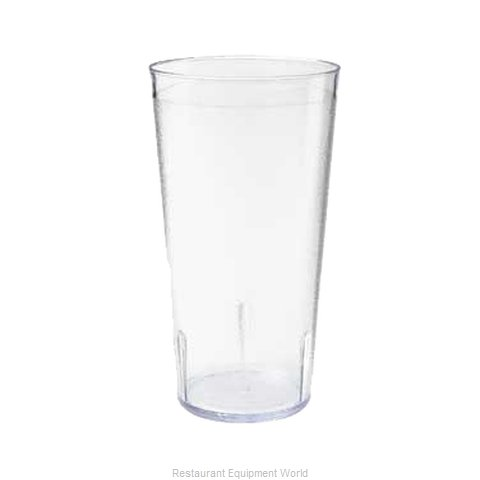 GET Enterprises 6620-1-6-CL Tumbler, Plastic (Magnified)
