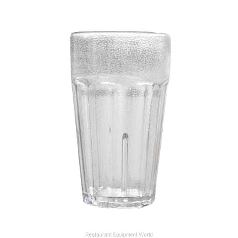 GET Enterprises 9921-1-CL Tumbler, Plastic (Magnified)