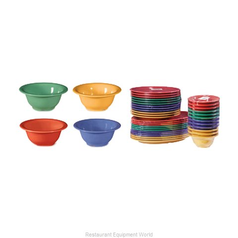 GET Enterprises B-105-MIX Bowl Soup Salad Pasta Cereal Plastic