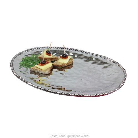 GET Enterprises CER-1723-SV Platter, China