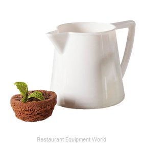 GET Enterprises CM-302-PC-W Creamer, Plastic