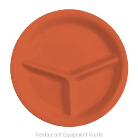 GET Enterprises CP-10-RO Plate/Platter, Compartment, Plastic