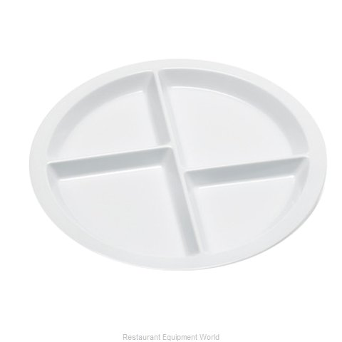 GET Enterprises CP-534-W Plate Platter Compartment Plastic