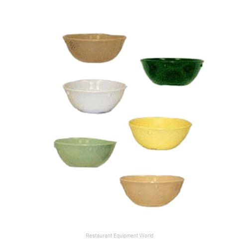 GET Enterprises DN-315-G Nappie Oatmeal Bowl, Plastic