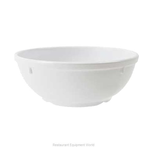 GET Enterprises DN-316-W Nappie Oatmeal Bowl, Plastic