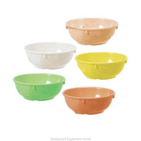 GET Enterprises DN-317-Y Nappie Oatmeal Bowl Plastic