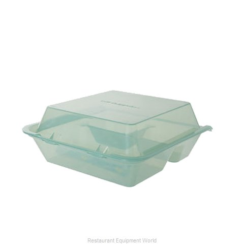 GET Enterprises EC-01-1-JA Carry Take Out Container Plastic (Magnified)