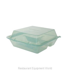 GET Enterprises EC-01-1-JA Carry Take Out Container, Plastic