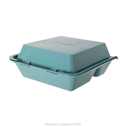 GET Enterprises EC-01-1-TE Carry Take Out Container Plastic