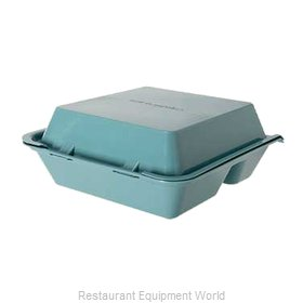 GET Enterprises EC-01-1-TE Carry Take Out Container, Plastic