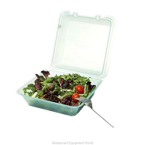 GET Enterprises EC-02-1-JA Carry Take Out Container Plastic (Magnified)