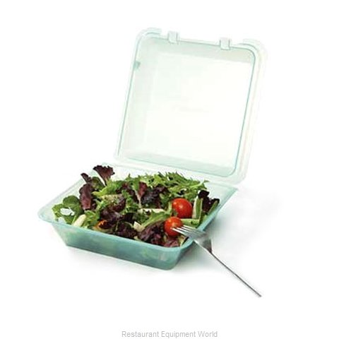 GET Enterprises EC-02-1-TE Carry Take Out Container Plastic