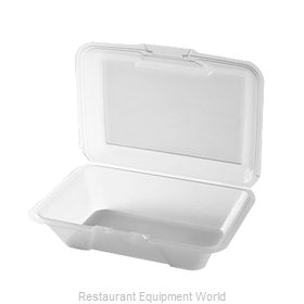 GET Enterprises EC-04-1-CL Carry Take Out Container, Plastic