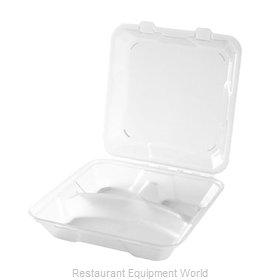 GET Enterprises EC-06-1-CL Carry Take Out Container, Plastic