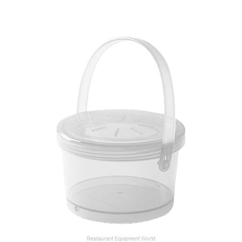 GET Enterprises EC-07-1-CL Carry Take Out Container, Plastic