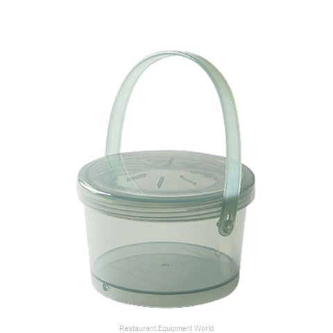 GET Enterprises EC-07-1-JA Carry Take Out Container Plastic (Magnified)