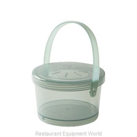 GET Enterprises EC-07-1-JA Carry Take Out Container, Plastic