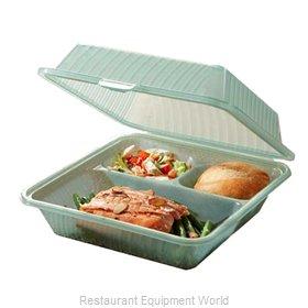 GET Enterprises EC-09-1-JA Carry Take Out Container, Plastic