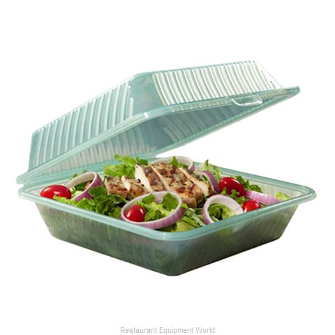 GET Enterprises EC-10-1-JA Carry Take Out Container Plastic (Magnified)
