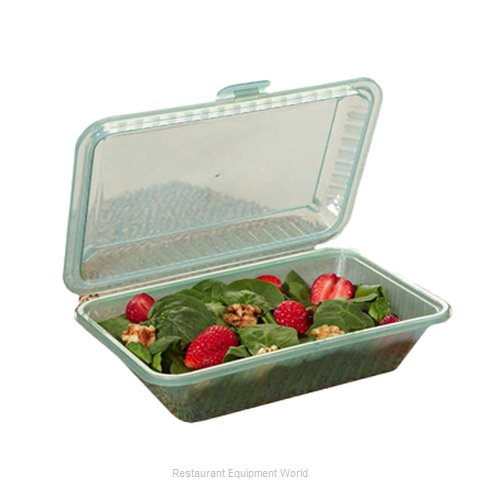 GET Enterprises EC-11-1-JA Carry Take Out Container Plastic (Magnified)