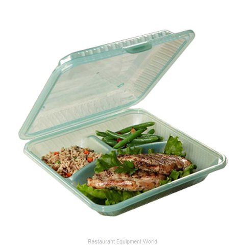 GET Enterprises EC-12-1-JA Carry Take Out Container, Plastic