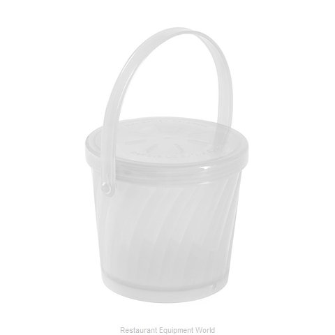 GET Enterprises EC-13-1-CL Carry Take Out Container, Plastic (Magnified)